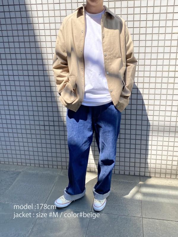 HUNTING JACKET_Laurentの着用画像2