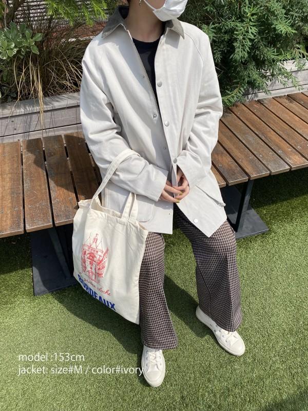 HUNTING JACKET_Laurentの着用画像3