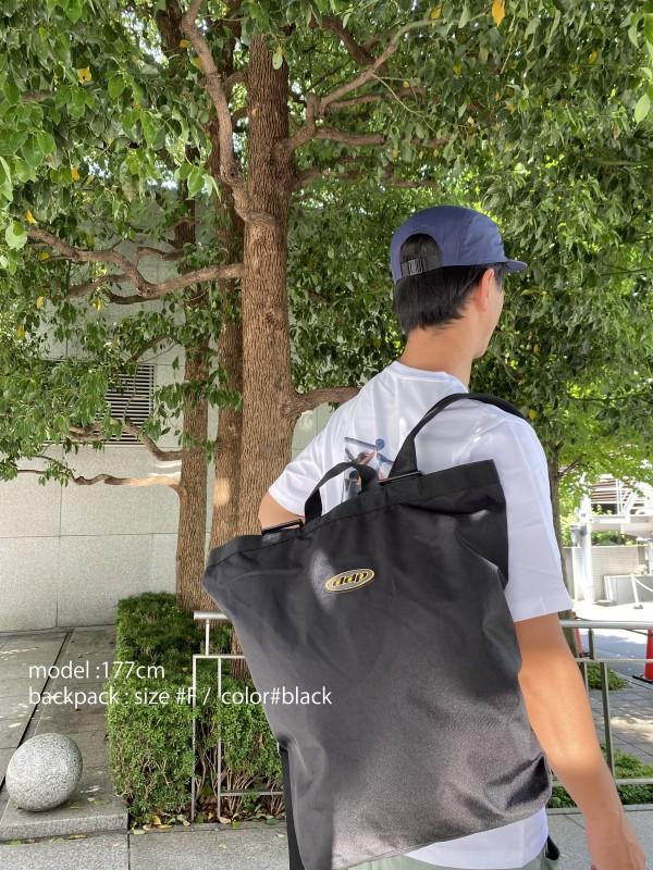 """ddp ARCHIVE LOGO BACK PACK """"Vincent""""の着用画像1"""