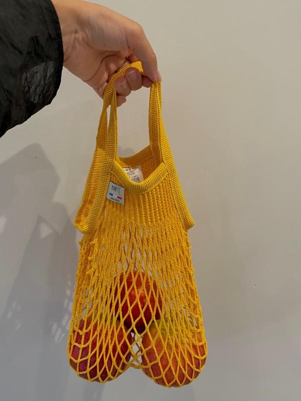 BONENDROI FILT MESH BAG Sの着用画像0